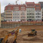 Baugrube QIII-2 und Rampische Straße
