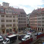 Jüdenhof mit den Quartieren VII-2 und VI (USD) im Bau