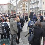 "Feier zur offiziellen Einweihung des ""Grünen Gewandhauses"" am 12. April 2019"