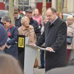 Rede des Dresdner Oberbürgermeisters Dirk Hilbert, Foto: Rita Alpen