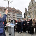 """Eveline Eaton und der britische Dresden Trust waren eine der drei Hauptinitiatoren für das Projekt """"Grünes Gewandhaus""""."""