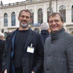 Nilsson Samuelsson (Stadtplanungsamt) und Torsten Kulke (GHND)