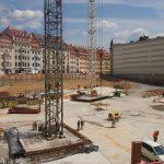 Baugrube im Quartier III (CG Gruppe)