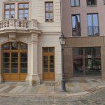 Ehemaliges Eingangsportal vom Regimentshaus und Wohnhaus von Stellwerk Architekten (Quartier VI)
