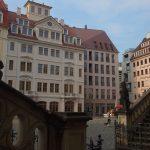 Englische Treppe des ehem. Stallgebäudes und Jüdenhof