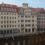 Blick auf das USD-Projekt am Jüdenhof (Quartier VI)