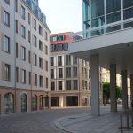 Morgenstimmung an der Galeriestraße hinter dem Kulturpalast
