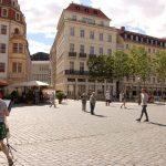 Neumarkt mit der Einmündung zur Frauenstraße
