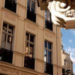 Modifizierte Fassade von Heinrich Bothen am Blobelhaus