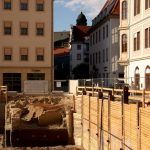 Baugrube Quartier VII-1 an der Schössergasse