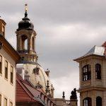 Frauenkirchenkuppel und wiederaufgebaute Neumarkthäuser