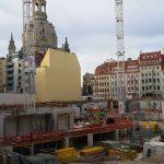 Baugrube Quartier III-2 vom Palais Hoym-Komplex der CG-Gruppe