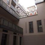 Innenhof an der Ecke Frauenstraße / Galeriestraße der USD im Quartier VI