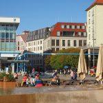 Blick vom Altmarkt Richtung Neumarkt und Galeriestraße