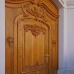 Tür des Regimentshauses