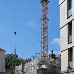 (Neue) Rosmaringasse, Baustelle des Quartiers VII/1