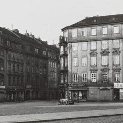 df_hauptkatalog_0114339_ Klemm, Konrad_ Neustädter Markt, Blick nach Westen in die Einmündug Große Meißne... , 1906_1908 - Kopie