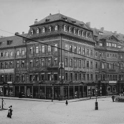 df_hauptkatalog_0275250_Jüdenhof 1. Wohn- und Geschäftshaus (Hauboldt's Hotel garni und Juweliergeschäft Moritz Elimeyer)