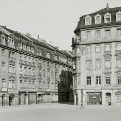 df_hauptkatalog_0401012_ Adam_ Andreas (1699)_ Dresden-Neustadt, Blick vom Neustädter Markt nach Westen