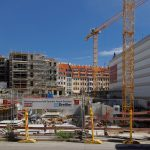 Baustelle des Palais Hoym