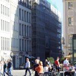 Blick in Landhausstraße, Baustelle des QIII/2