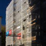 Quartier VII/1: Fassaden zur (Neuen) Rosmaringasse
