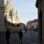 Blick aus der Sporergasse über den Jüdenhof auf den Neumarkt