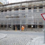 Quartier III: Die Baustelle ruht seit Weihnachten